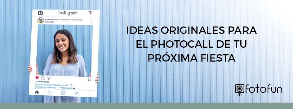 Ideas Originales para el Photocall de tu próxima fiesta